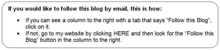 Follow this blog