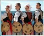 Nice France traditional dancers
