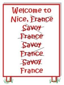 welcome to Nice