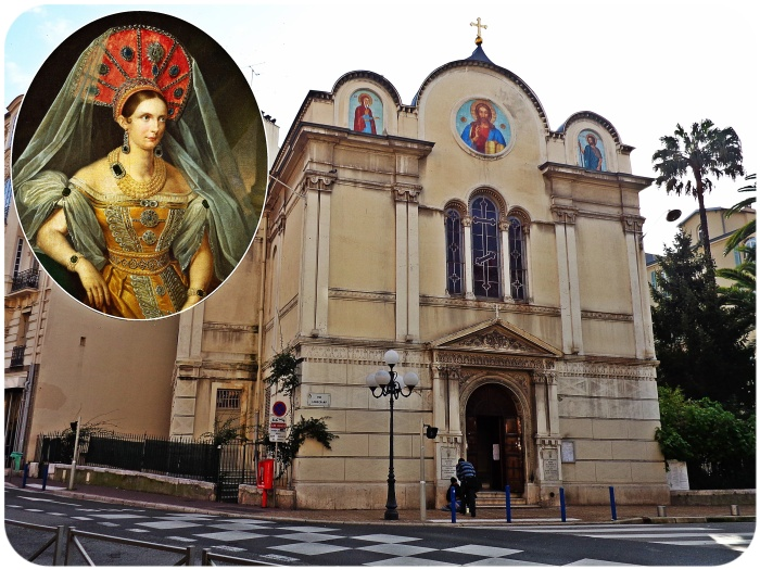 Church, Nice, France, Empress, Tsarina Alexandra