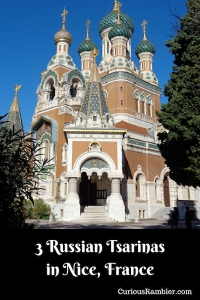 3 Russian Tsarinas in Nice, France
