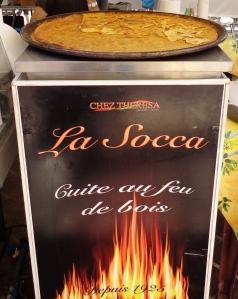socca, Cours Saleya, Chez Thérésa
