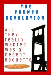 French revolution poster by Margo Lestz