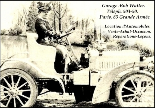 Mme Mlle Bob Walter, Baptistine Dupre, elopements, automobile