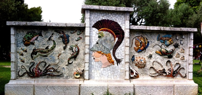 Mosaics on the Hill, Nice, France