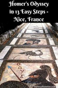 Homer's Odyssey in 13 Easy Steps - Nice, France