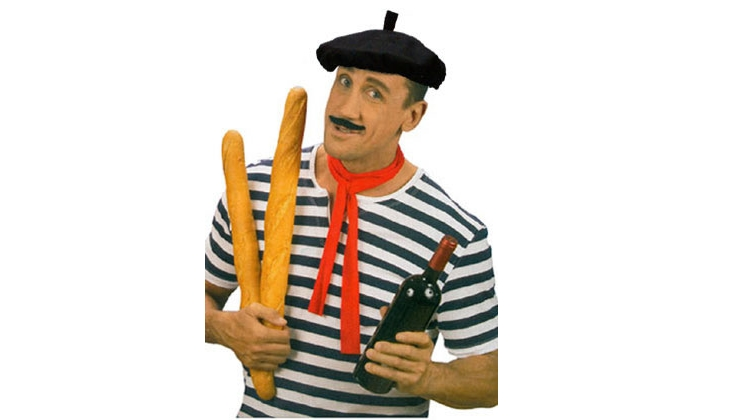 Berets onions and stereotypes the curious rambler for French striped shirt and beret