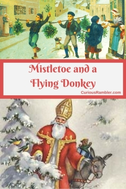 Mistletoe and a Flying Donkey