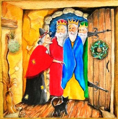 Befana With The Three Kings