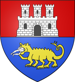 Tarascan coat of arms with Tarasque