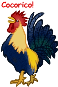 rooster cocorico