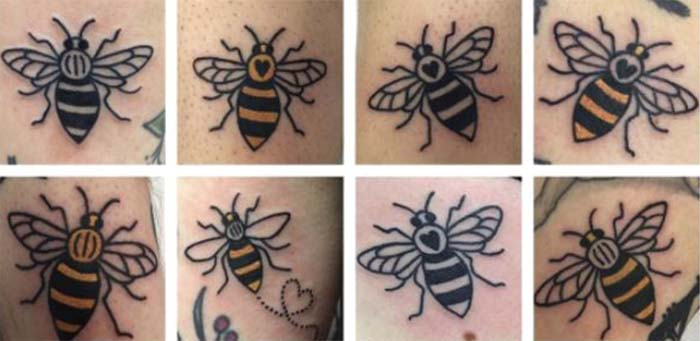 The manchester bee the curious rambler for Bee tattoo manchester