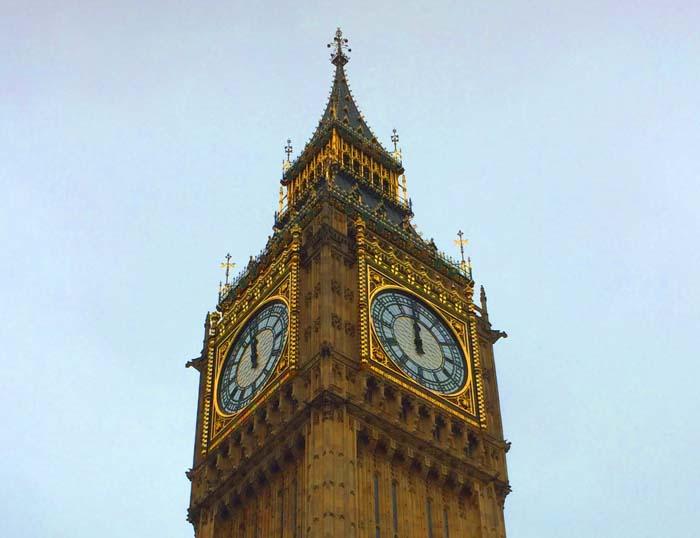 Big Ben noon
