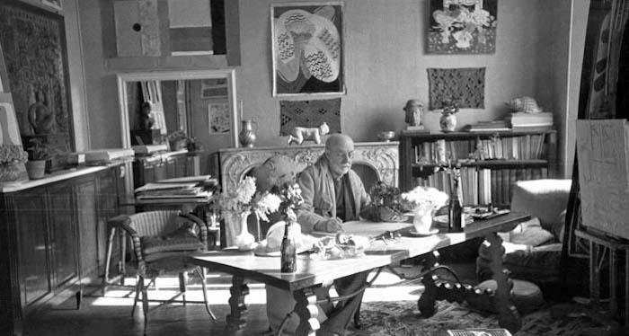 Matisse in studio