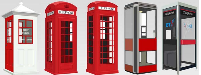 Phone box designs
