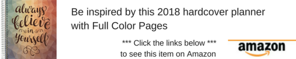 2018 calendar planner