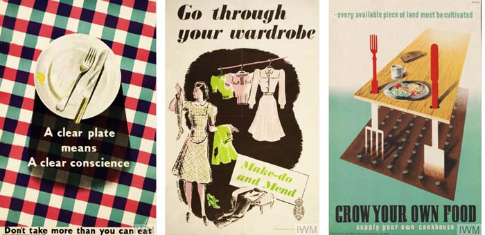 Keep Calm WW II posters