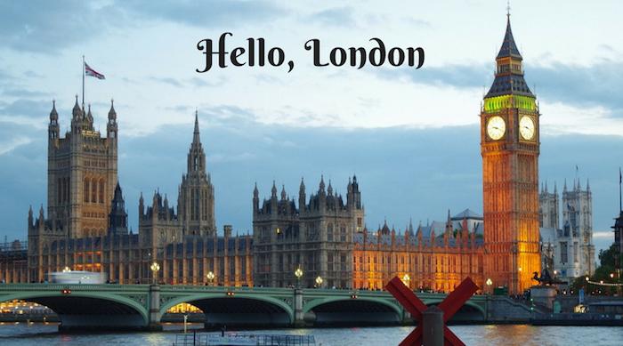 Hello, London